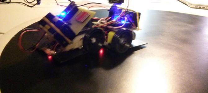 Mini Sumo robot