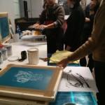 Workshop sulla stampa serigrafica