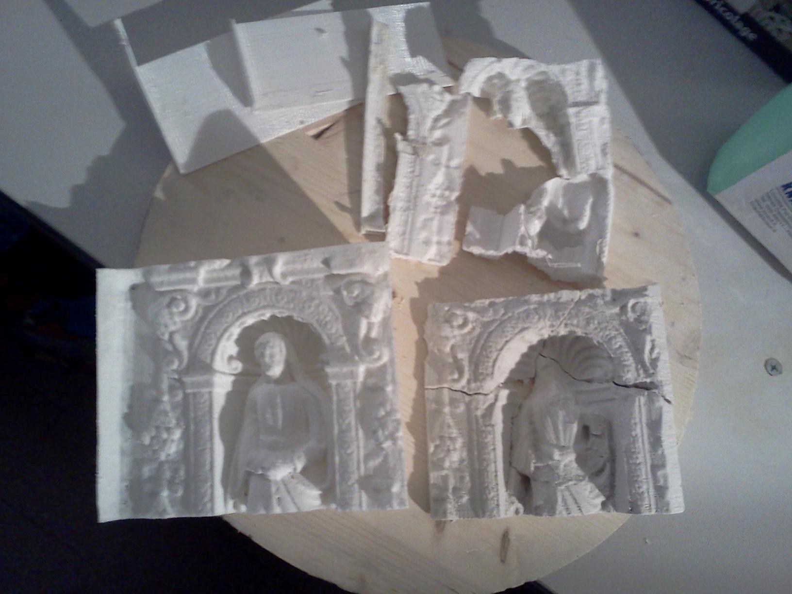 Souvent Stampa 3d e Stampi per gesso! – Geco Fab Lab – Pavia CZ27