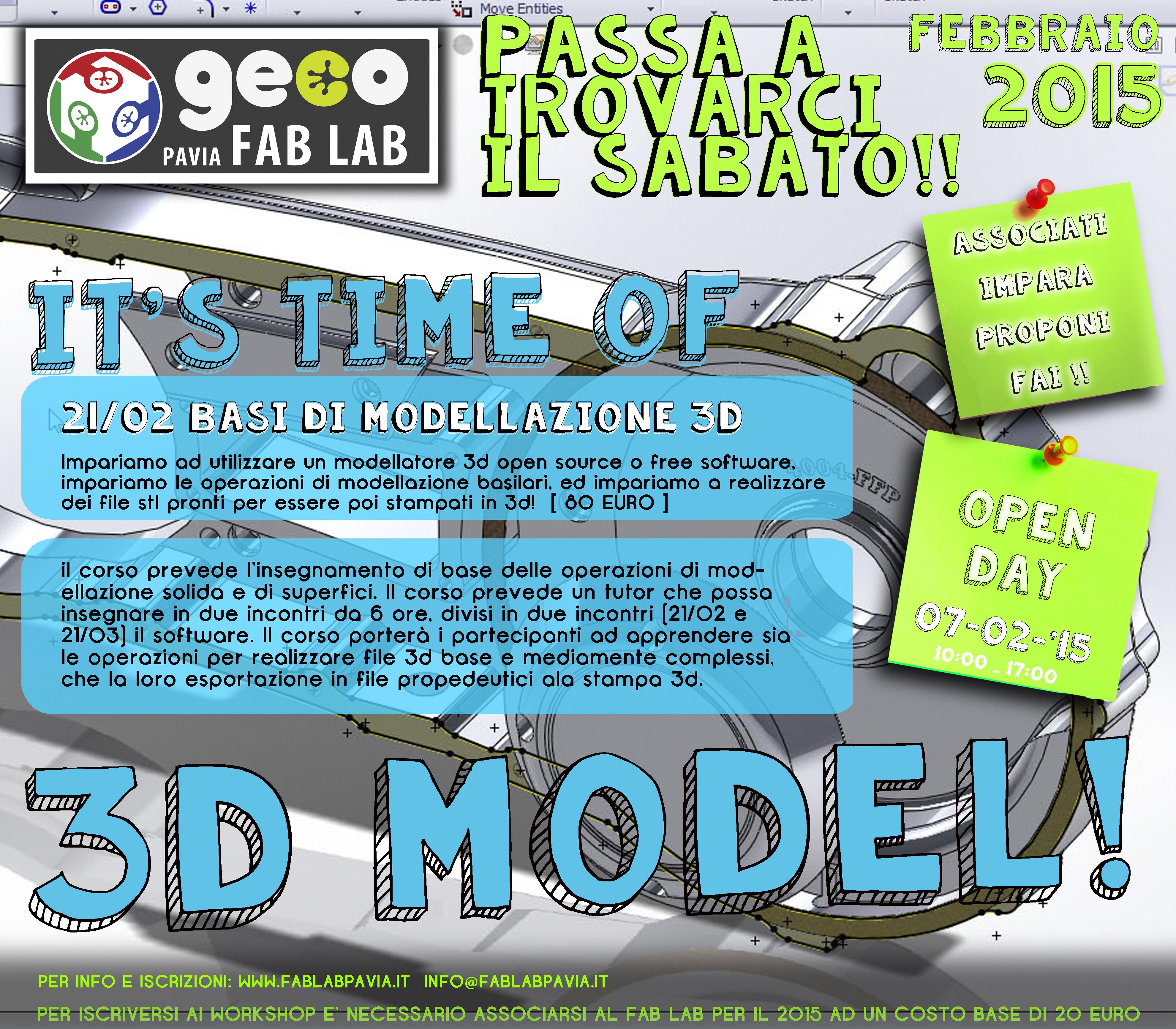 basi di modellazione 3d