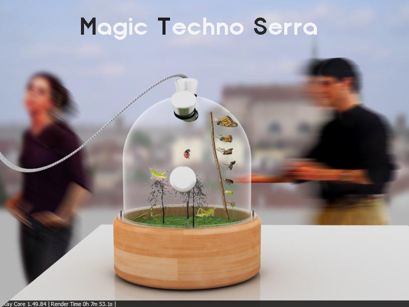 magic tecno serra
