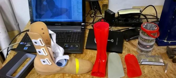 Presidi ortopedici, dalla scansione alla protesi grazie al Fab Lab Pavia