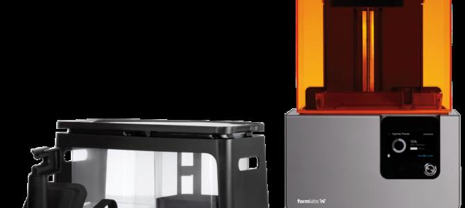 """Nuova Stampante 3d nel Fab Lab, è arrivata la FORM """" s.l.a"""
